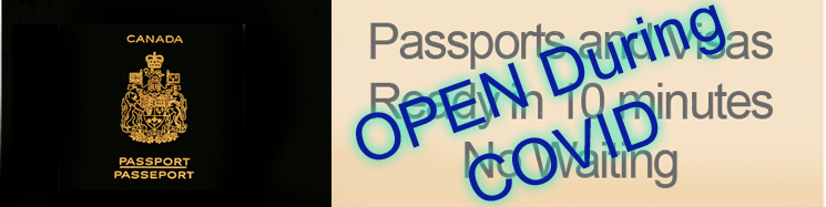 Open in covid front page